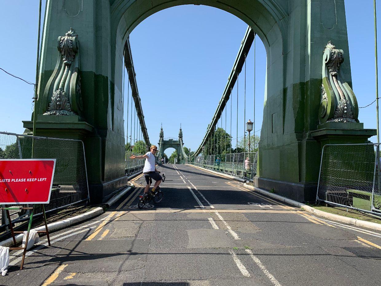 Car-free Hammersmith Bridge